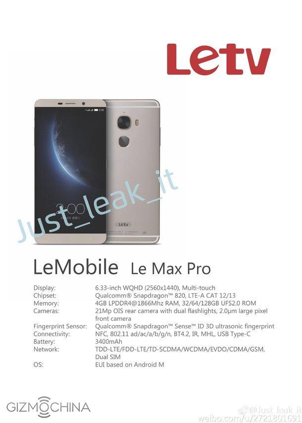 LeTV Le Max Pro