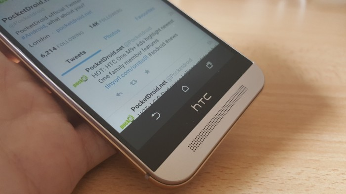 HTC One M9 con Android M