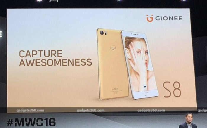 Annunciato Gionee S8 al MWC