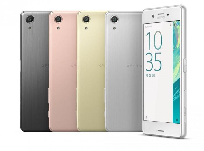 Sony presenta Xperia X, X performance e XA