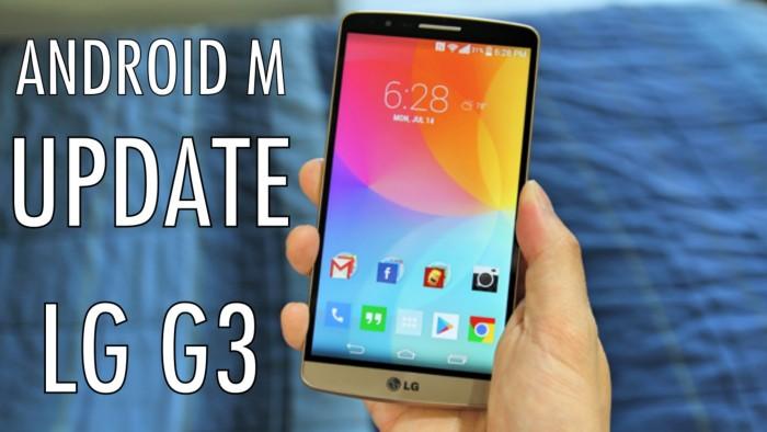 LG G3 no brand riceve finalmente Android M