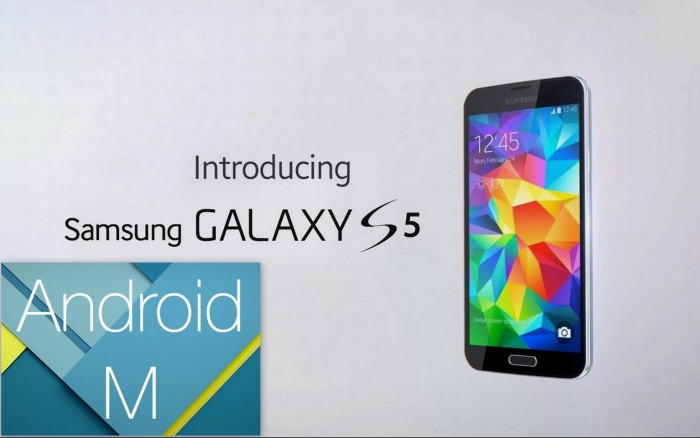 Android M per Galaxy S5 è in roll out