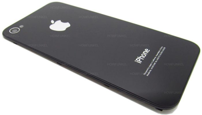 iPhone 7S con scocca posteriore in vetro e display AMOLED