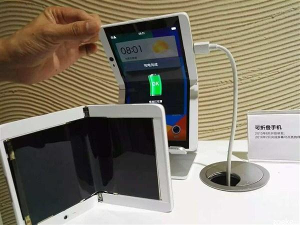 Oppo mostra un dispositivo da 7