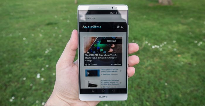 In arrivo un nuovo Huawei Mate 8 con Force Touch | Ultime news