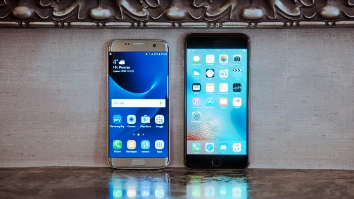 samsung galaxy s7 edge vs oneplus 3 vs iphone 6 plus