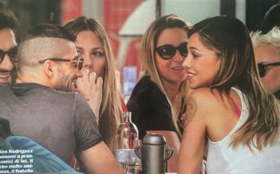 Belen, fuga a Ibiza con Iannone