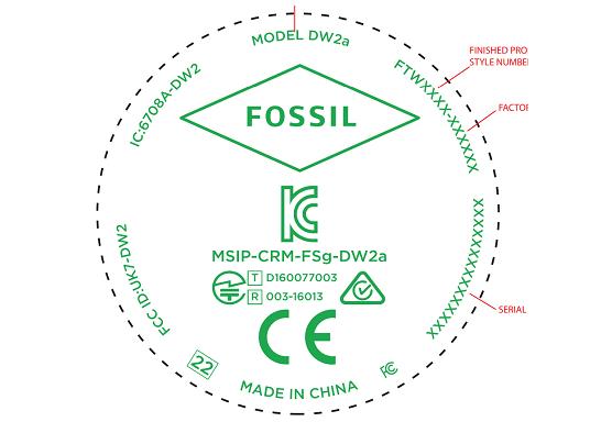 Fossil lavora ad un nuovo smartwatch