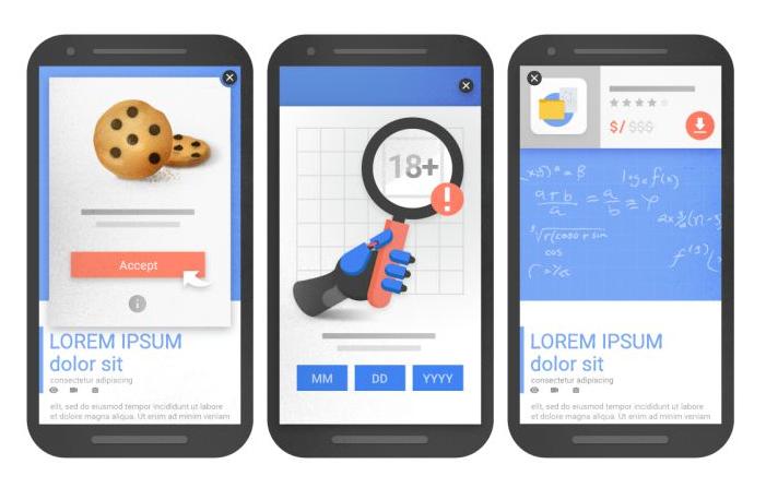 Google penalizzerà i siti con pubblicità troppo invasiva