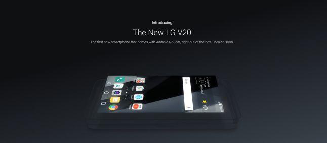 LG V20 avrà un comparto sonoro sbalorditivo