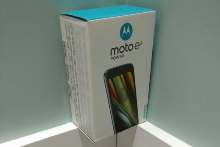 Nuovo Motorola Moto E3 Power disponibile a Hong Kong