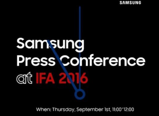 Samsung Gear S3: presentazione ufficiale il 1 settembre