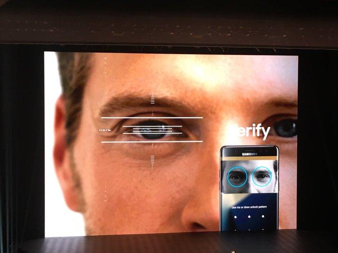 Scansione dell'iride, Samsung punta tutto sul suo nuovo sistema di identificazione