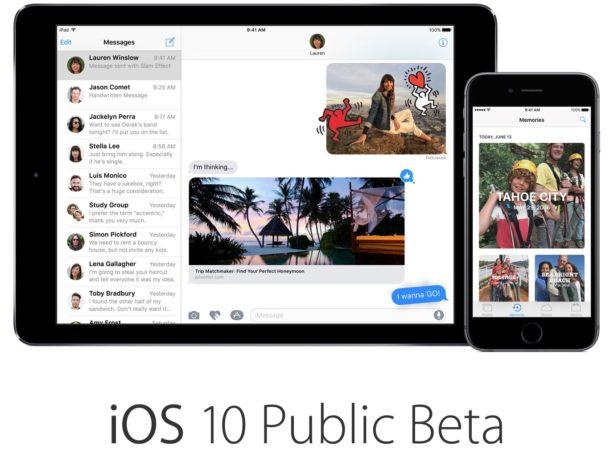 iOS 10 Beta 8 disponibile per i dev, anche in pubblica