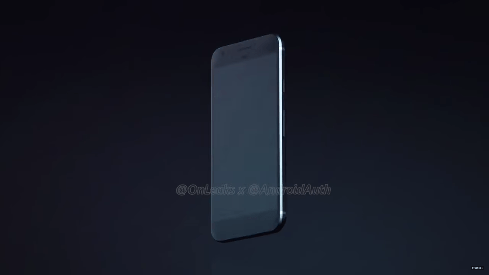 Ecco il render del Pixel XL con logo Google sul retro