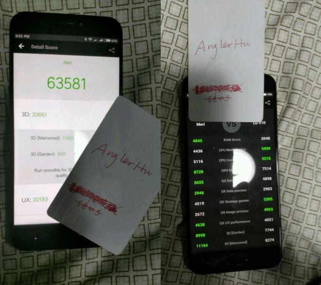 Xiaomi Meri compare su AnTuTu, ecco le specifiche