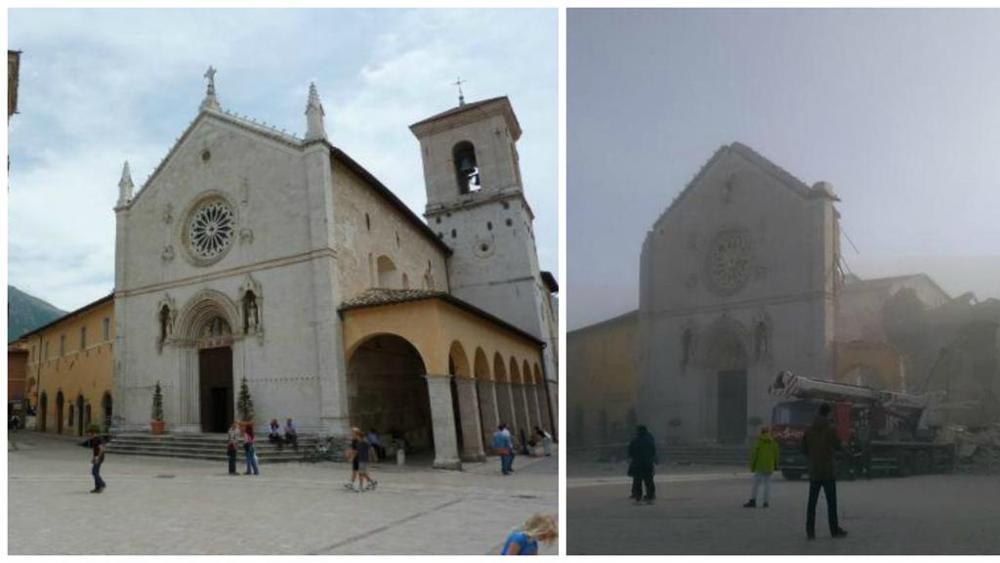 Forte scossa di terremoto in centro Italia