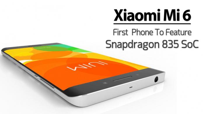 Xiaomi Mi 6, il nuovo top gamma del produttore Cinese