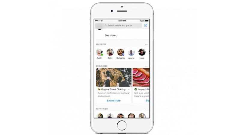 Facebook lancia la pubblicità su Messenger