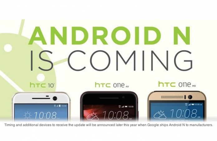 HTC 10 riceve Android N in Europa e in Italia