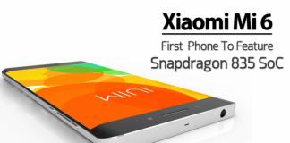 Xiaomi Mi 6, prezzi e configurazioni del dispositivo