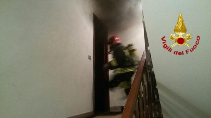 Anziana morta nell'incendio del suo appartamento