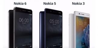 Ecco i nuovi Nokia 6, Nokia 5 e Nokia 3