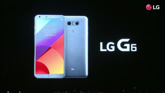 Ufficiale LG G6, eccolo con specifiche complete, MWC 2017