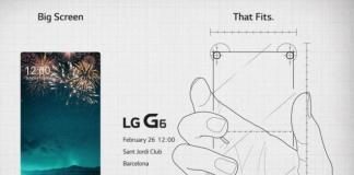 LG G6 con display Full Vision per mettere in risalto le sue qualità