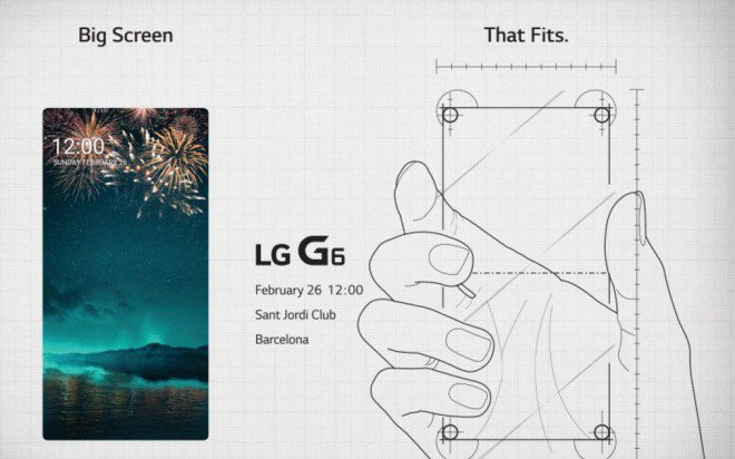 LG G6 con display Full Vision per mettere in risalto le sue qualità