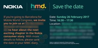 Nokia spedisce gli inviti per l'evento del Mobile World Congress 2017