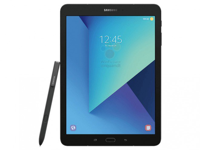 Prima immagine di Samsung Galaxy Tab S3