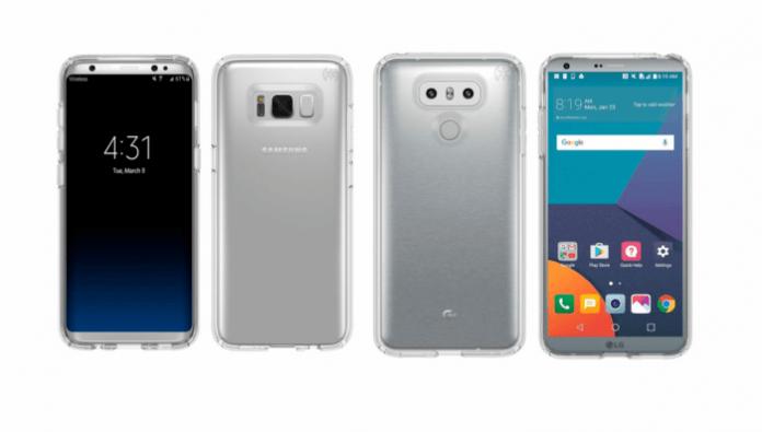 Samsung Galaxy S8 vs Lg G6 in nuove immagini nitidissime