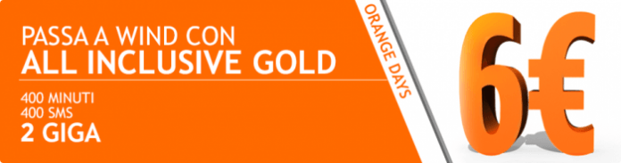 Wind All Inclusive Gold torna disponibile per gli utenti Wind e MVNO