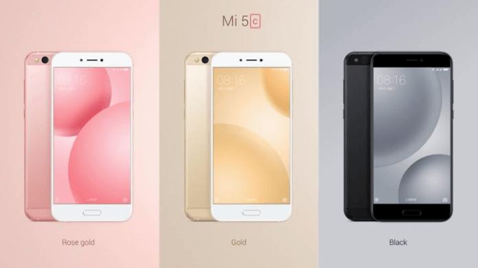Xiaomi Mi 5C dotato di SoC Xiaomi è ufficiale