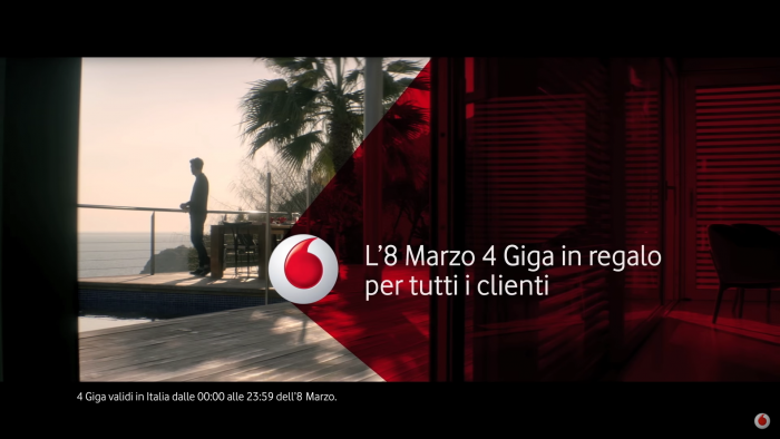 Il regalo di Vodafone alle donne per l'8 marzo: Patrick Dempsey