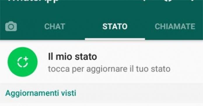 WhatsApp inizia a reintrodurre il vecchio Stato eliminando le storie