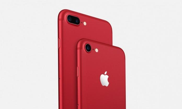 Presentato il nuovo iPhone 7 RED Special Edition
