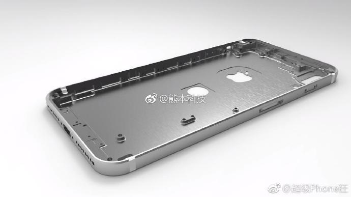 Ecco il presunto stampo utilizzato per iPhone 8