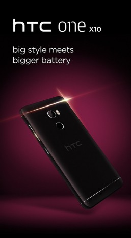HTC One X10, prima immagine e specifiche tecniche