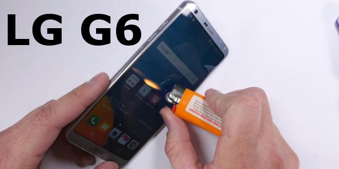 LG G6 torturato e stressato nel nuovo video di JerryRigEverithing