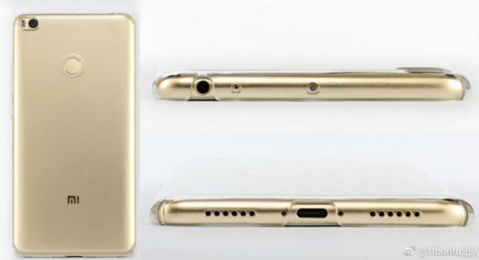 Xiaomi Mi Max 2 in nuove foto con USB Type-C